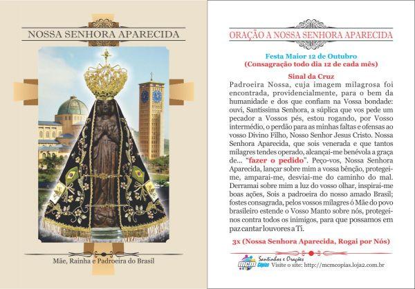 Nossa Senhora Aparecida Mãe Da Família Brasileira: Nossa Senhora Aparecida (MÃE, RAINHA)- Milheiro